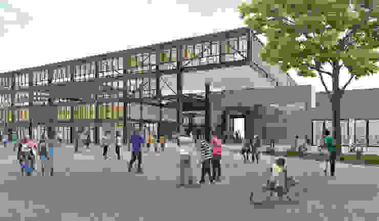 Centro Cultural de Casagrande Trujillo Casas modernas: Ideas, imágenes y decoración de Ctrl+ Moderno