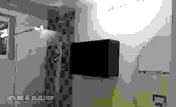 정읍 (Jungeup) 모던스타일 욕실 by HOUSE & BUILDER 모던