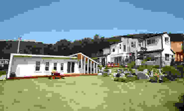 강화초지리 (Kanghwa) 모던스타일 주택 by HOUSE & BUILDER 모던