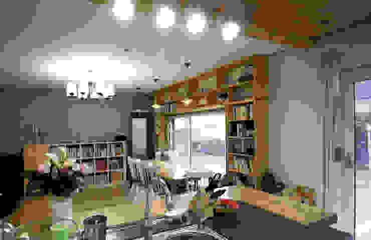 용인 흥덕지구 (Yongin) Cuisine moderne par HOUSE & BUILDER Moderne