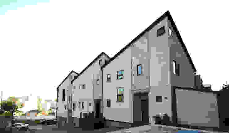용인 흥덕지구 (Yongin) Maisons modernes par HOUSE & BUILDER Moderne