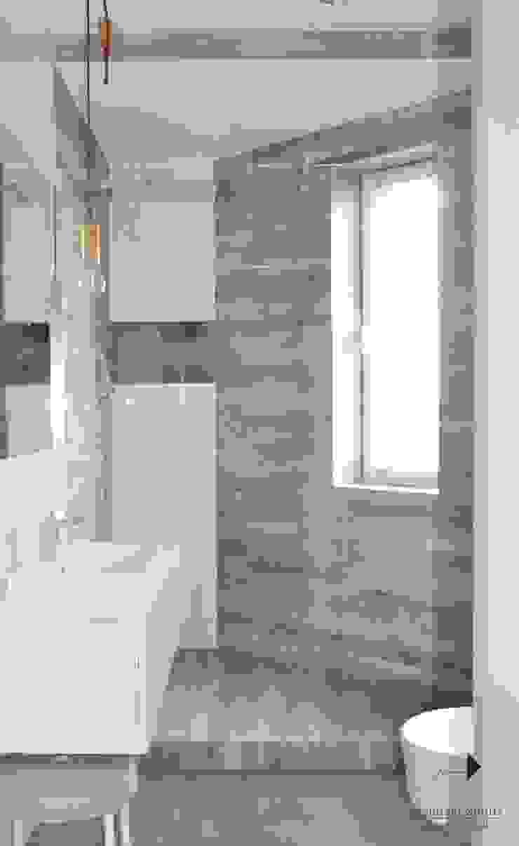 Ванная комната в стиле модерн от Architekt wnętrz Klaudia Pniak Модерн