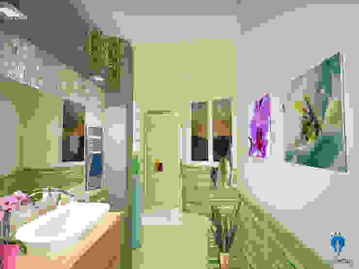 blucactus design Studio Modern Bathroom
