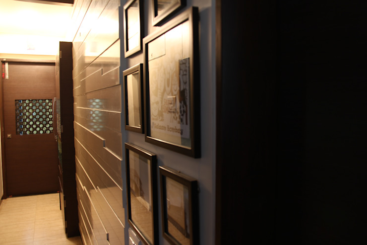 Elevate Lifestyles Modern Corridor, Hallway and Staircase