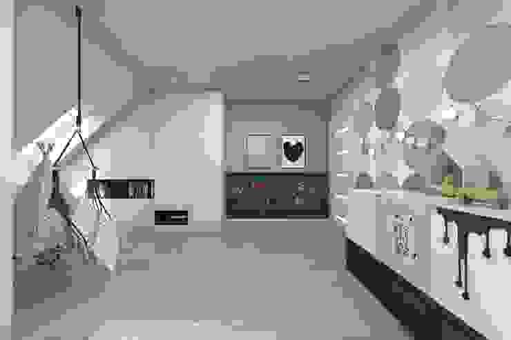 BAGUA Pracownia Architektury Wnętrz Modern Kid's Room