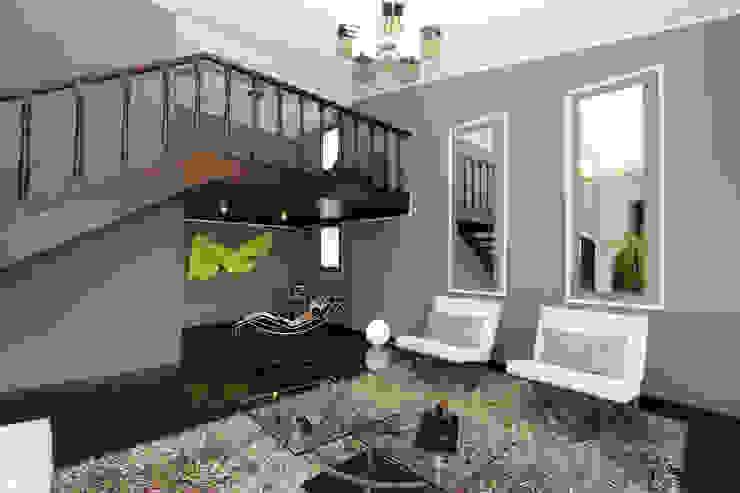 PH 525 Salas de estilo moderno de Arq Renny Molina Moderno