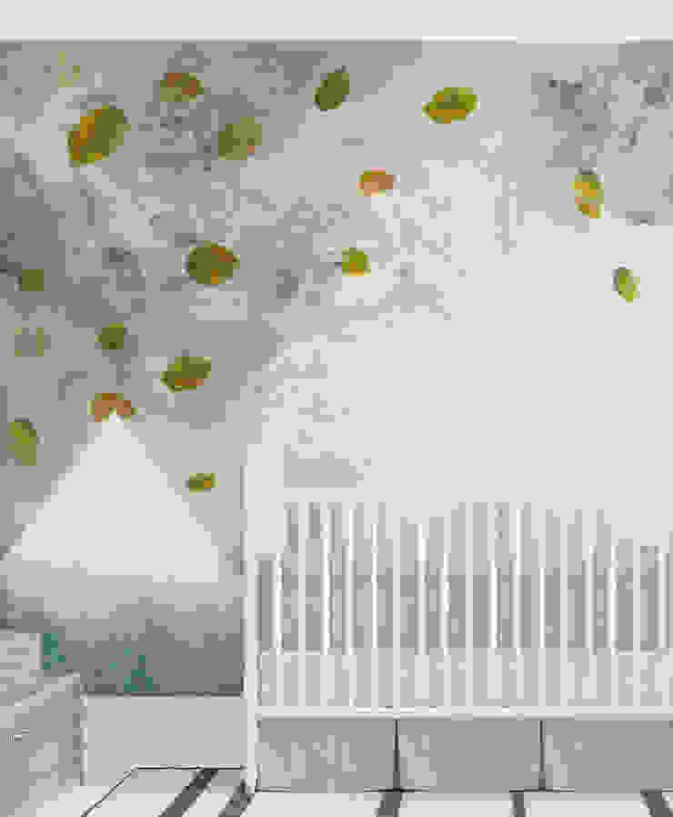 HF086-View From My Bedroom por House Frame Wallpaper & Fabrics Moderno