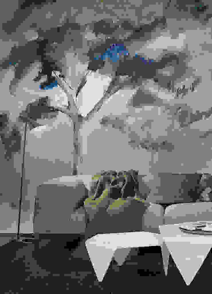 HF092-Tree of my life por House Frame Wallpaper & Fabrics Moderno