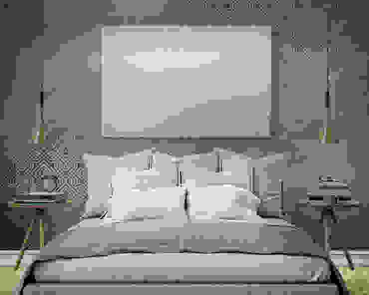 HF095-Blue por House Frame Wallpaper & Fabrics Minimalista