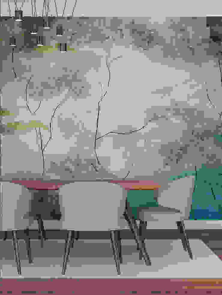 HF097-On Top por House Frame Wallpaper & Fabrics Moderno