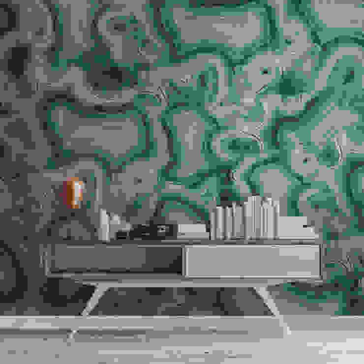 HF099-Malaquita por House Frame Wallpaper & Fabrics Moderno