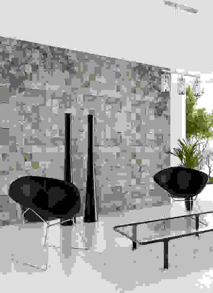 HF104-Decorated Stones por House Frame Wallpaper & Fabrics Moderno
