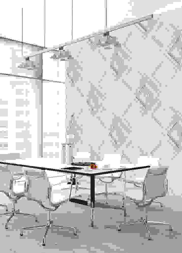 HF105-Plaster por House Frame Wallpaper & Fabrics Moderno