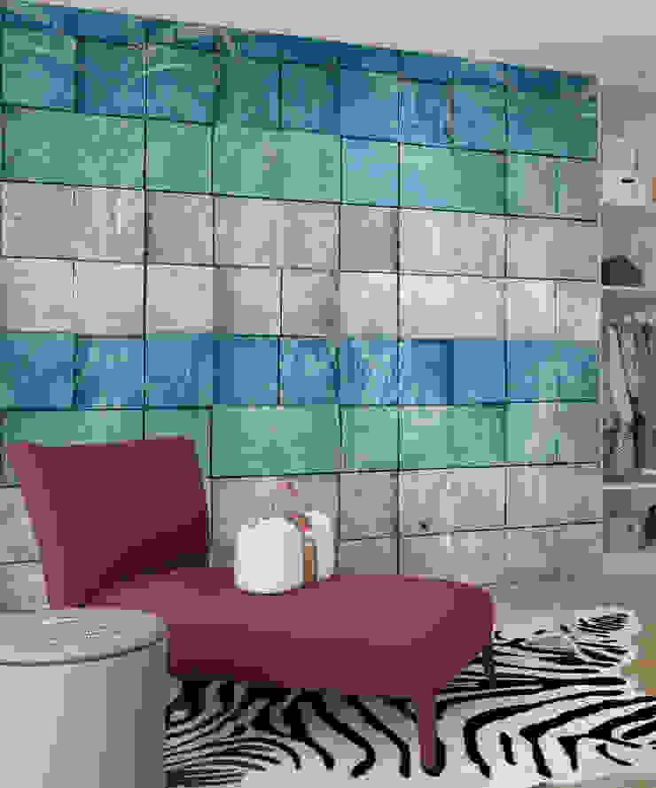 HF106-Grandidierite por House Frame Wallpaper & Fabrics Moderno