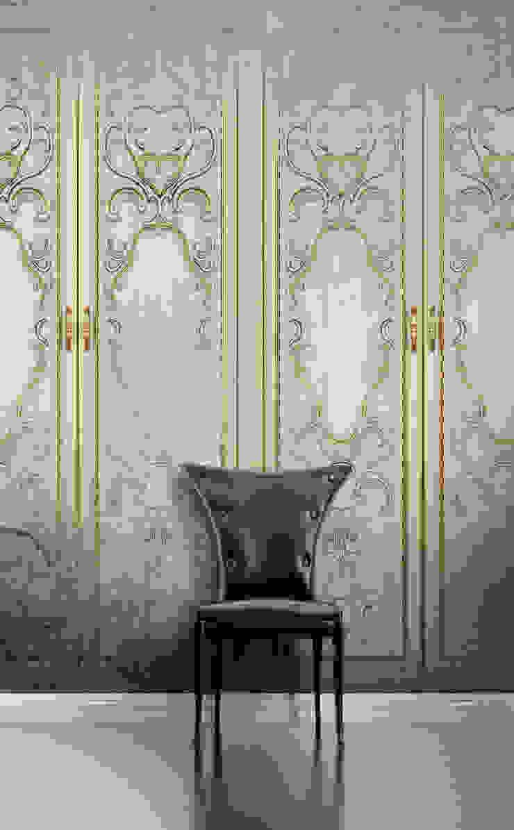 HF108-Golden por House Frame Wallpaper & Fabrics Moderno