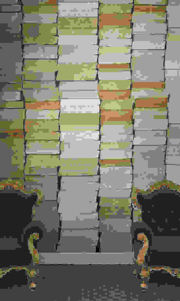 HF109-My Collection of Books por House Frame Wallpaper & Fabrics Moderno