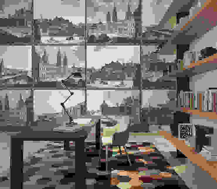 HF114-Other Memories por House Frame Wallpaper & Fabrics Moderno