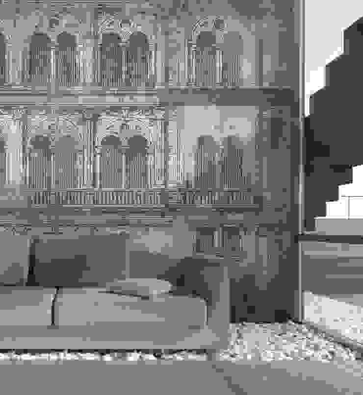 HF115-Foreground por House Frame Wallpaper & Fabrics Moderno