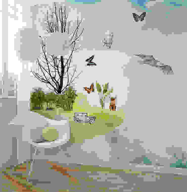 HF119-Get In-MAQ por House Frame Wallpaper & Fabrics Moderno