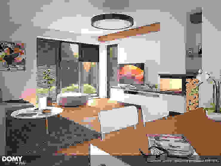 Wohnzimmer von Biuro Projektów MTM Styl - domywstylu.pl, Modern
