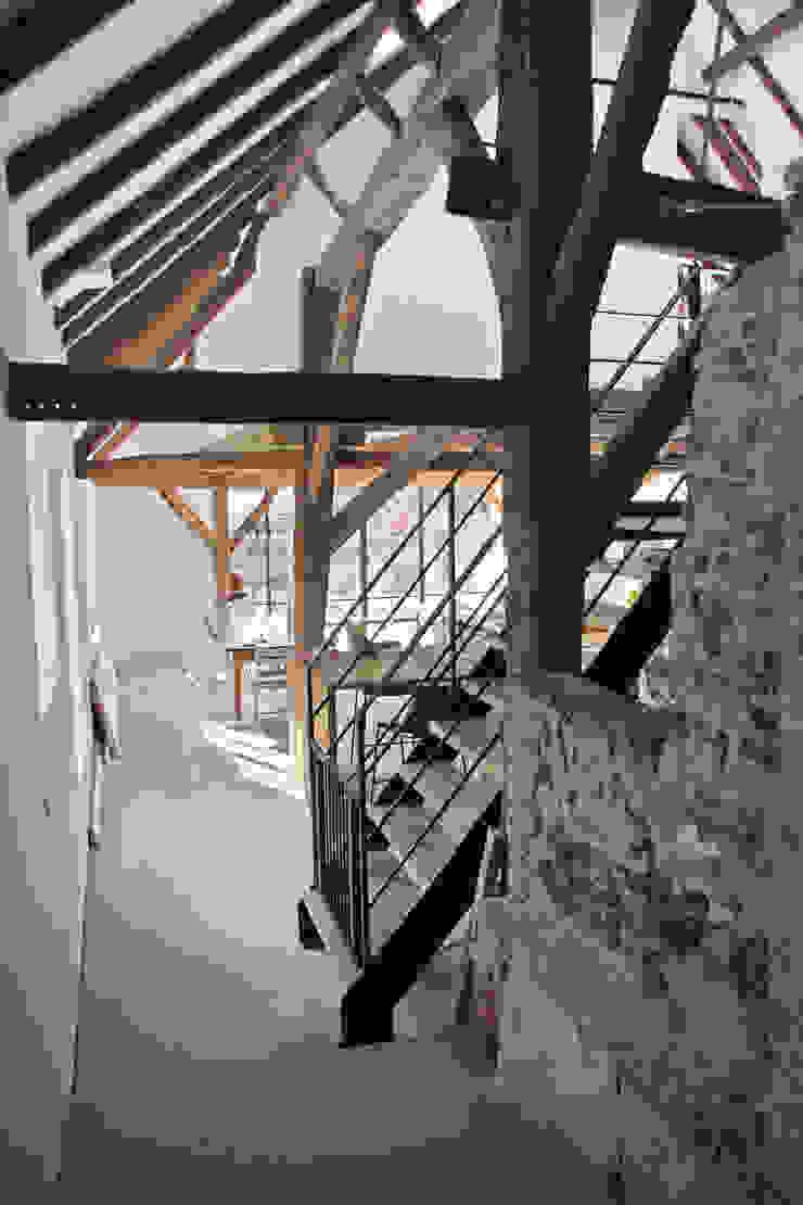 wonen oude stal Landelijke woonkamers van Arend Groenewegen Architect BNA Landelijk