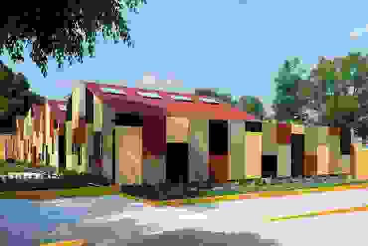 VIROC FIBERCEMENT PANELLER Modern Evler SARGRUP İNŞAAT VE ENERJİ LTD.ŞTİ. Modern Orta Yoğunlukta Lifli Levha