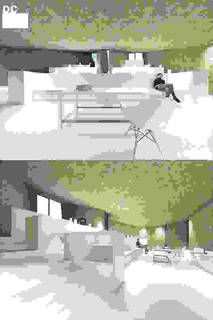 Sala comum por Arq. Duarte Carvalho