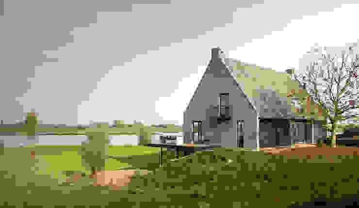 Nowoczesne domy od Arend Groenewegen Architect BNA Nowoczesny