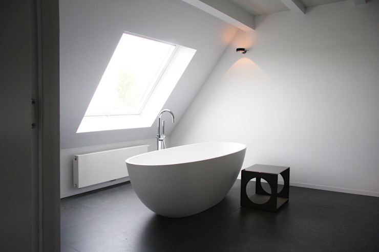 badkamer Moderne badkamers van Arend Groenewegen Architect BNA Modern