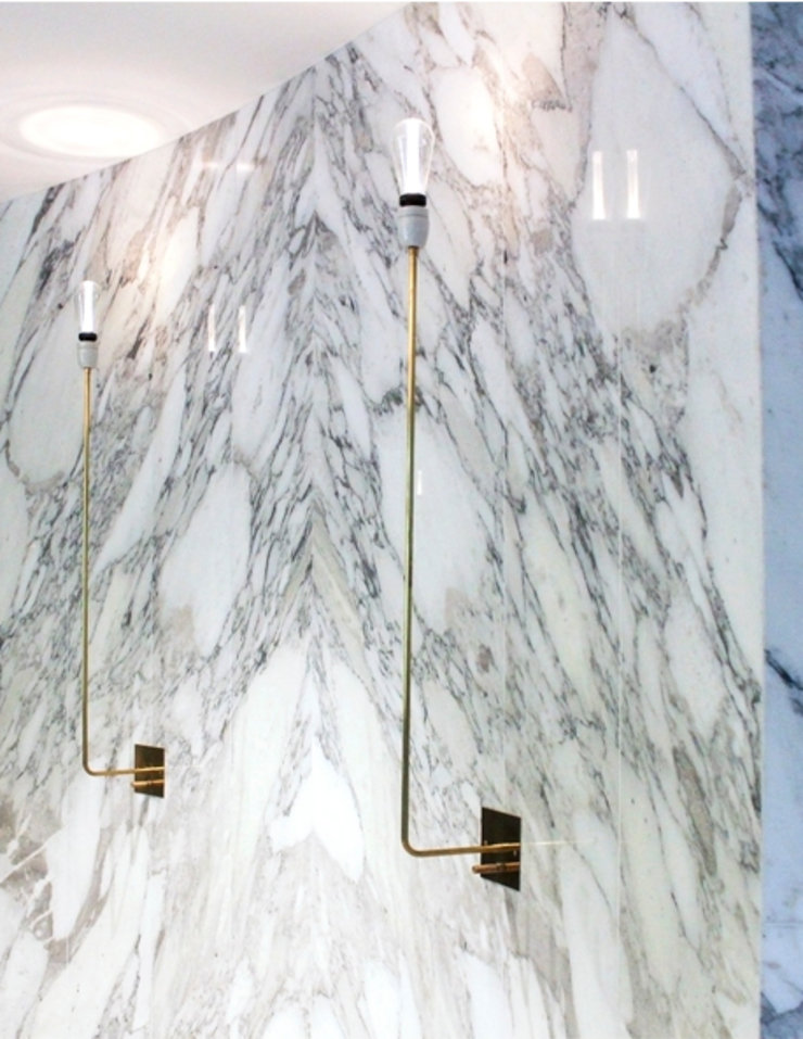 Leman Street Offices Modern offices & stores by Househam Henderson Modern Marble