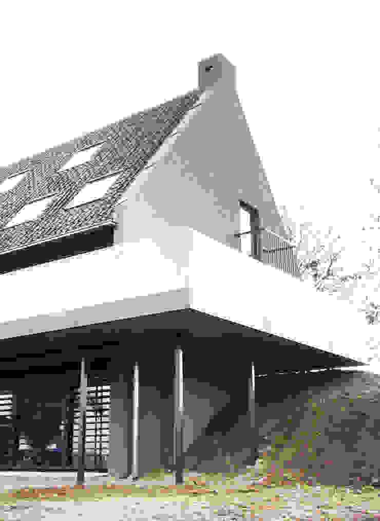 balkon, dijk Moderne balkons, veranda's en terrassen van Arend Groenewegen Architect BNA Modern