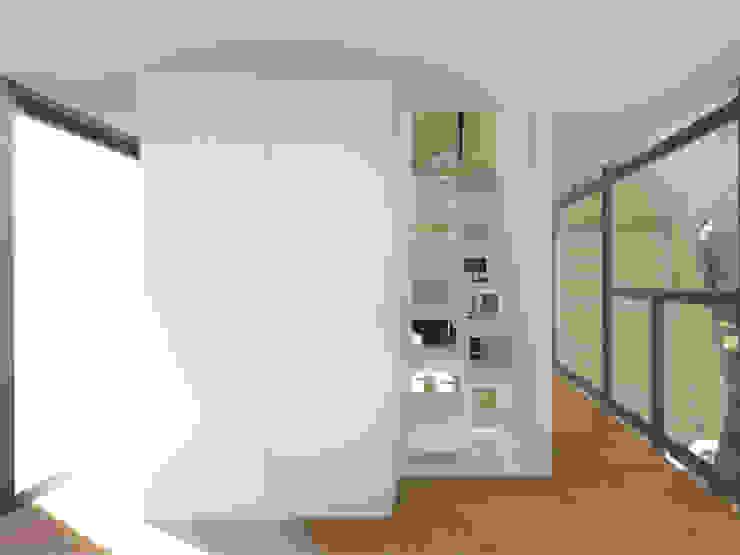 Interior - Pormenor das escadas por Arq. Duarte Carvalho