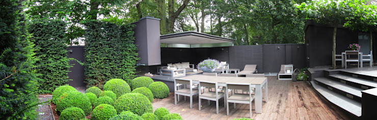 Modern style balcony, porch & terrace by Arend Groenewegen Architect BNA Modern