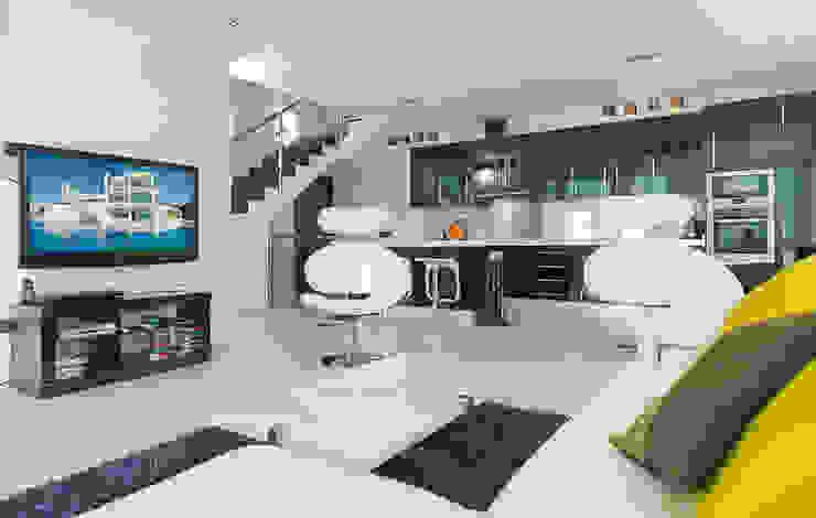 Living Room Casa Vary Minimalist living room by Househam Henderson Minimalist