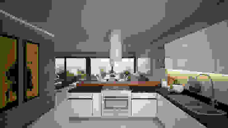 Taller Tres Modern kitchen