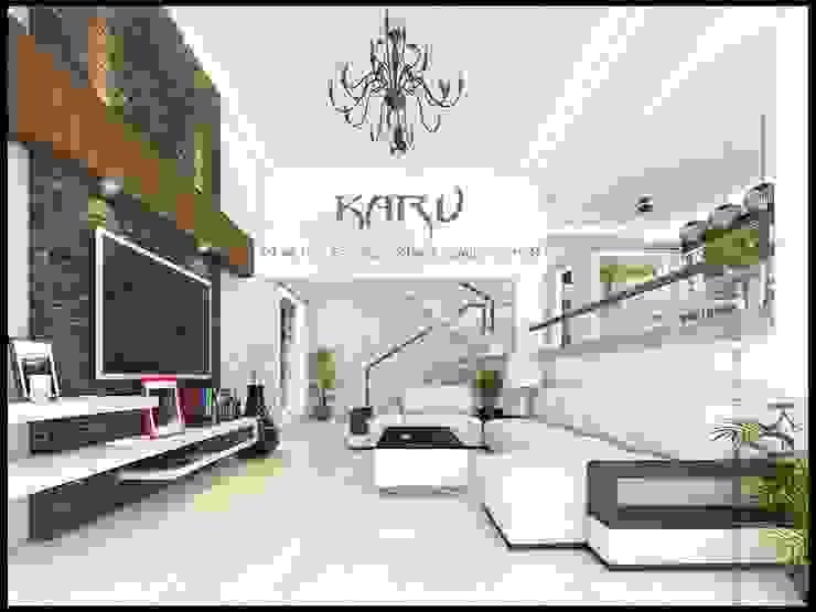 living room Modern living room by KARU AN ARTIST Modern