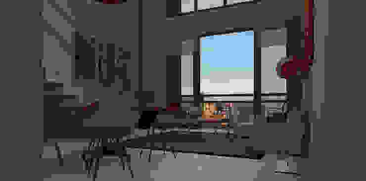 Proyecto edificio residencial Comedores modernos de CaB Estudio de Arquitectura Moderno