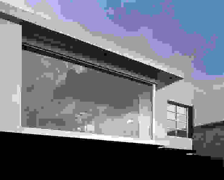 CaSA CORTINA Casas modernas de CoRREA Arquitectos Moderno