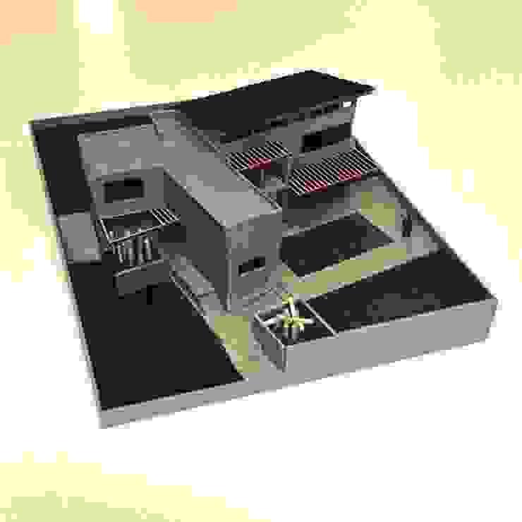 CaSA PADELFORD Casas modernas de CoRREA Arquitectos Moderno