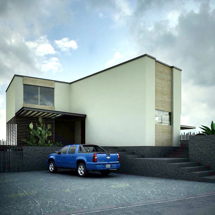 Modern houses by CoRREA Arquitectos Modern