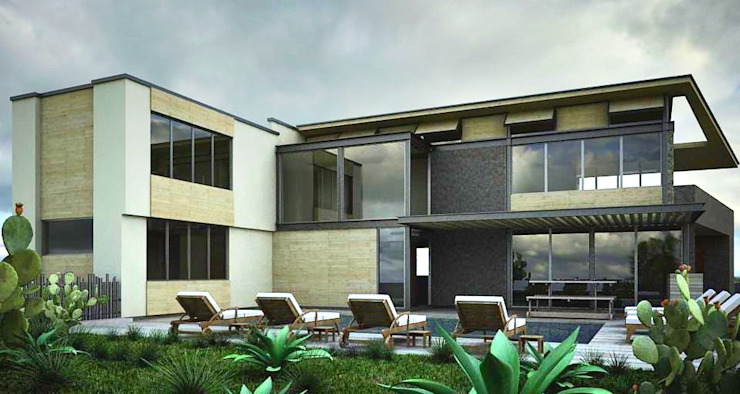 Modern pool by CoRREA Arquitectos Modern