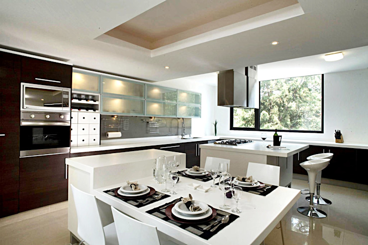 CaSA PEREZ Cocinas modernas de CoRREA Arquitectos Moderno