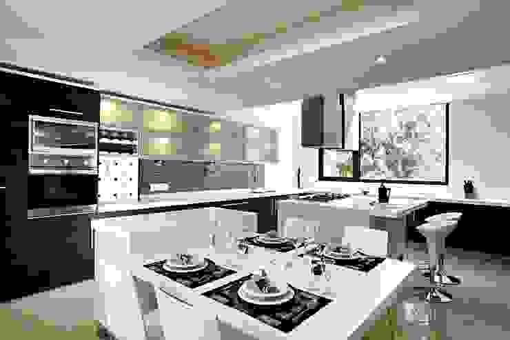 CoRREA Arquitectos Modern Kitchen