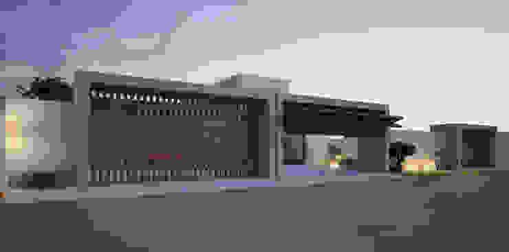 Portón de madera Casas modernas de AParquitectos Moderno Madera Acabado en madera