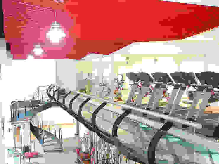 Gimnasio 365 Espacios comerciales de estilo moderno de AParquitectos Moderno