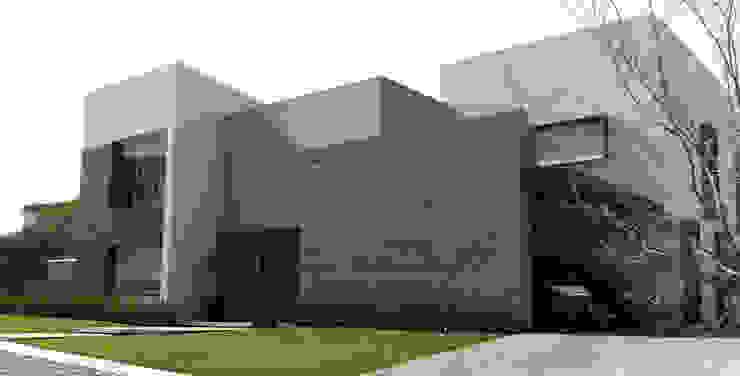 Fachada Casas modernas de AParquitectos Moderno Pizarra