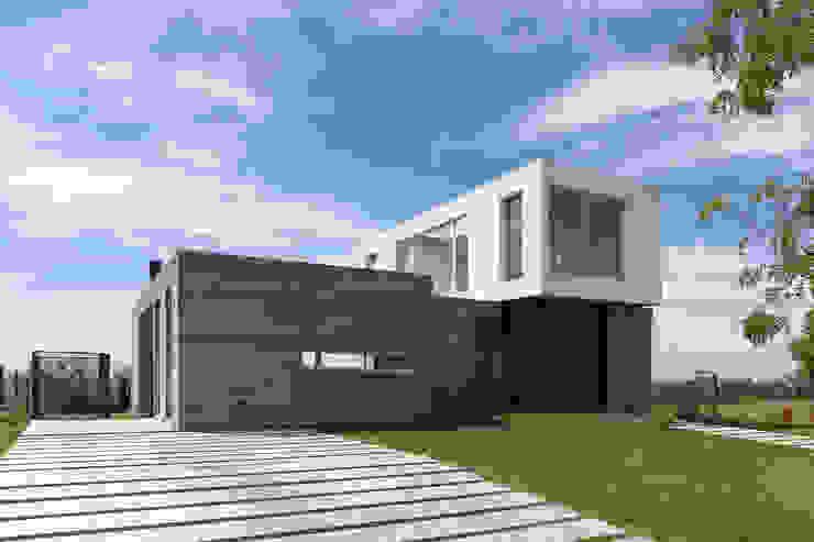 現代房屋設計點子、靈感 & 圖片 根據 BAM! arquitectura 現代風 水泥