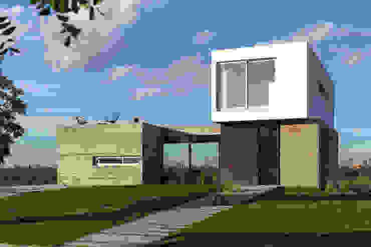Casa CG342 Casas estilo moderno: ideas, arquitectura e imágenes de BAM! arquitectura Moderno Concreto