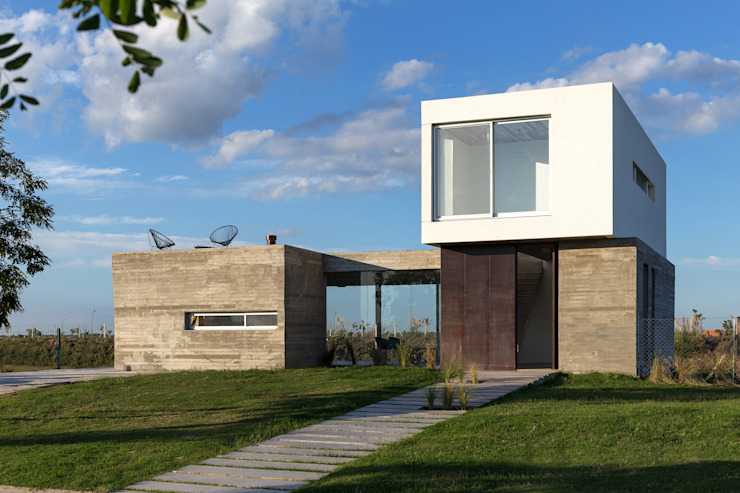 BAM! arquitectura Modern houses Concrete White