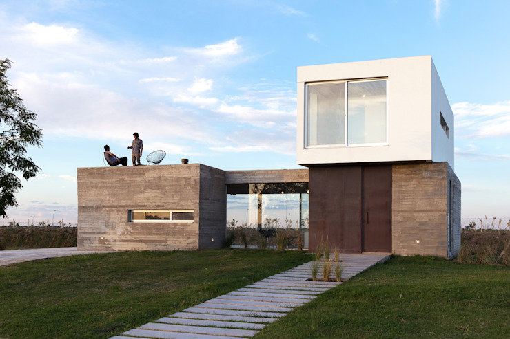 Modern houses by BAM! arquitectura Modern Concrete